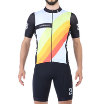 Bombtrack Hara Jersey Black/Colourful Medium