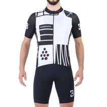 Bombtrack Machi Jersey Black/White Large