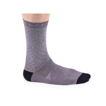 Bombtrack Kong Socks Black/Grey Medium