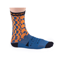 Bombtrack Hook Socks Blue/Orange Medium