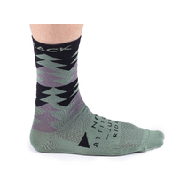 Bombtrack Beyond Socks Olive/Black Large