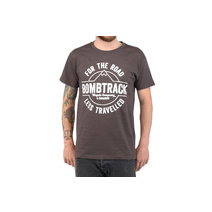 Bombtrack Less Travelled T-Shirt Grey Medium