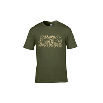 Bombtrack For The Love Of Mud T-Shirt Olive Large
