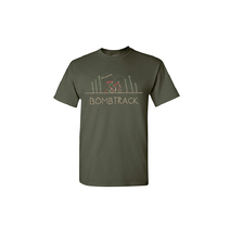 Bombtrack Get Wild T-Shirt Olive Large