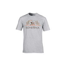 Bombtrack Get Wild T-Shirt Heather Grey Small