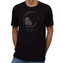Burgtec Logo Tech T-Shirt Small Black/Black