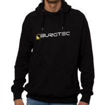 Burgtec Logo Hoody Large Black/Yellow