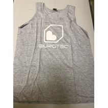 Burgtec Logo Vest Large Grey/White