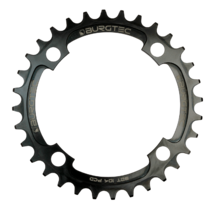 Burgtec Thick-Thin Chainring 104mm BCD 30T Black