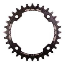 Burgtec Thick-Thin Chainring 104 BCD E-Bike Steel 32T Black