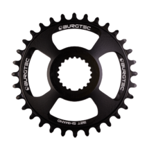 Burgtec Thick-Thin Chainring Shimano Direct 32T Black