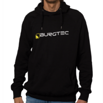 Burgtec Logo Hoody Medium Black/Yellow