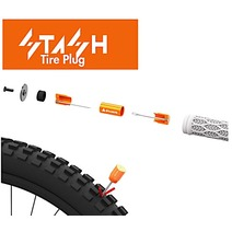 Granite Stash Tyre Plug Kit Inside Handlebar inc 2 Bar Plugs