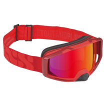 iXS Goggles Trigger Frame:Racing Red Lens:Mirror Crimson