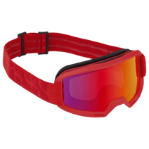 iXS Goggles Hack Frame:Racing Red Lens:Mirror Crimson
