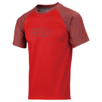 IXS Progressive Jersey 8.1 Red Youth Large