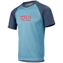 IXS Progressive Jersey 8.1 Blue Youth X-Large