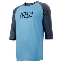 iXS Brand 3/4 Tee 6.1 Medium Light Blue/Night Blue