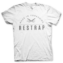Restrap T-Shirt Logo White Large