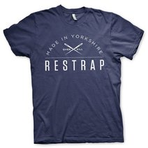 Restrap T-Shirt Logo Navy Blue Large