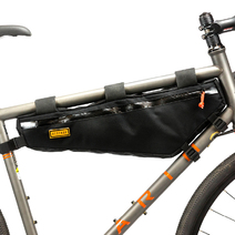 Restrap Bikepacking Frame Bag Large Black