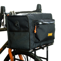 Restrap Bikepacking Rando Bag Large Black