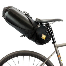 Restrap Bikepacking Saddle Bag + Dry Bag Large 14 litre Black/Black