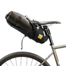 Restrap Bikepacking Saddle Bag + Dry Bag Small 8 litre Black/Black