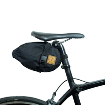 Restrap Bikepacking Saddle Pack Small 4 Litre Black