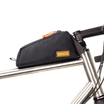 Restrap Top Tube Bolt On Bag 0.8 Litres Black