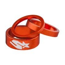 Spank Headset Spacer Kit 3/6/12mm Orange