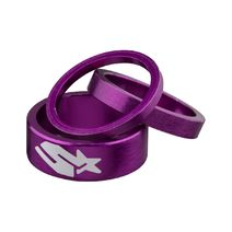 Spank Headset Spacer Kit 3/6/12mm Purple