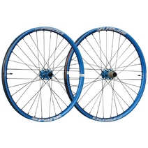 Spank Oozy Trail 345 Wheelset 27.5in 100x15/110x20 QR/142x12 Blue