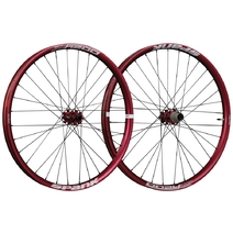 Spank Oozy Trail 395+ Wheelset 29in 100x15/110x20 QR/142x12 Red