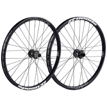 Spank Spoon 32 Wheelset 27.5in Front:110x20mm Rear:150x12mm Black