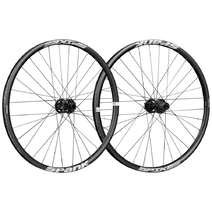 Spank Spike Race 28 Wheelset 26in Front:110x20mm Rear:150x12mm Black