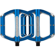 Spank Spoon 110 Pedals Large Blue