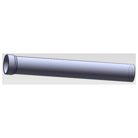 KS Part P40BOL-34.9-100 - Mast Shaft (LEVIN)