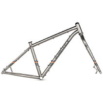 Bombtrack 2017 Beyond Plus Medium Matt Metallic Grey Frameset
