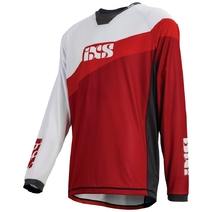 iXS Race 7.1 Jersey Large Fluro Red/Red