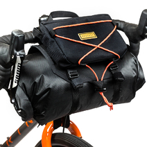 Restrap Bikepacking Barbag + Food Pouch + Dry Bag Black