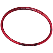 Spank Oozy Trail 295 Rim 27.5in 28H Red